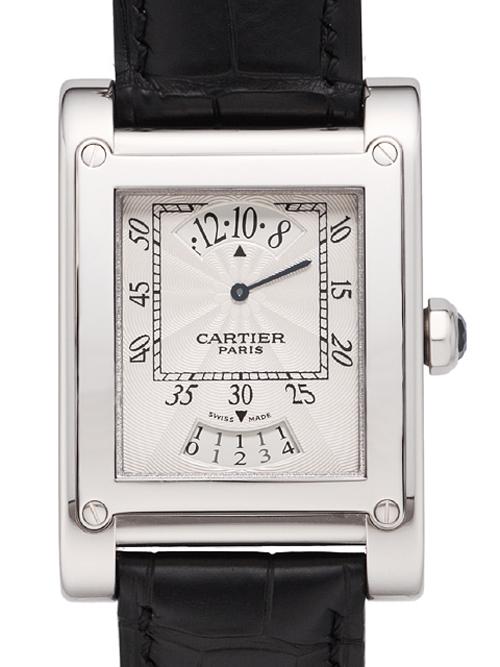 カルティエ タンク ア・ヴィス タイム&カレンダー W1534551