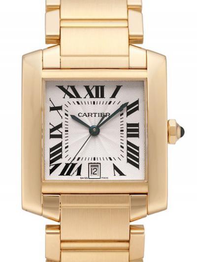 カルティエ タンクフランセーズ LM W50011S3 偽物腕時計代引き対応安全