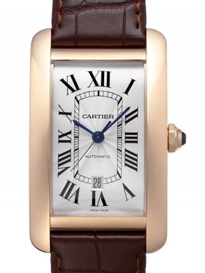 カルティエ  時計コピー代引き タンクアメリカン XL W2609756