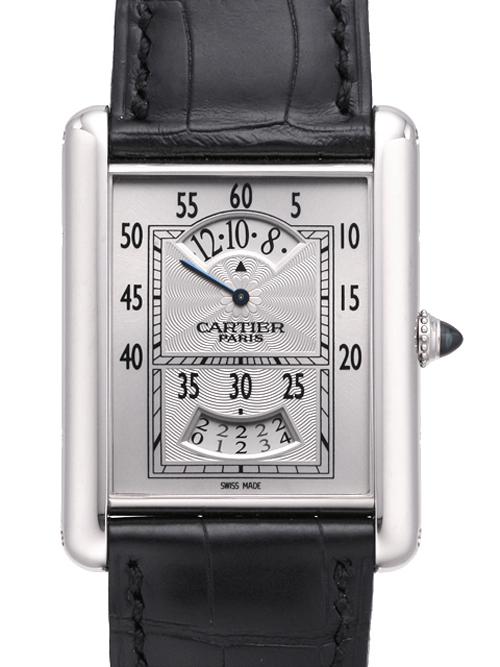 カルティエ コレクションプリヴェ タンク ルイ・カルティエ アギシェ W1554851