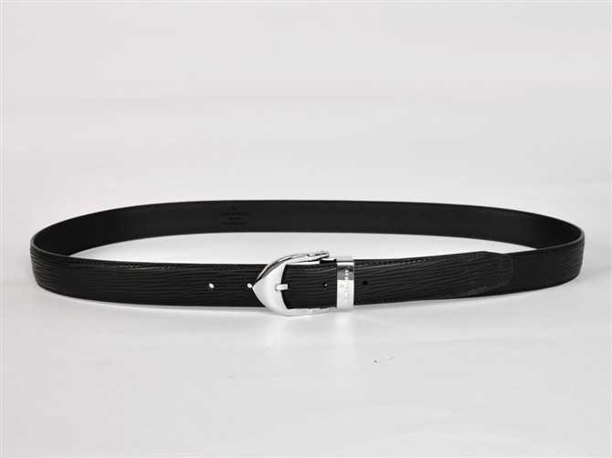 エピ・レザー ブラック ルイ·ヴィトン Louis Vuitton 男性女性 ユニセックス ベルト M3003
