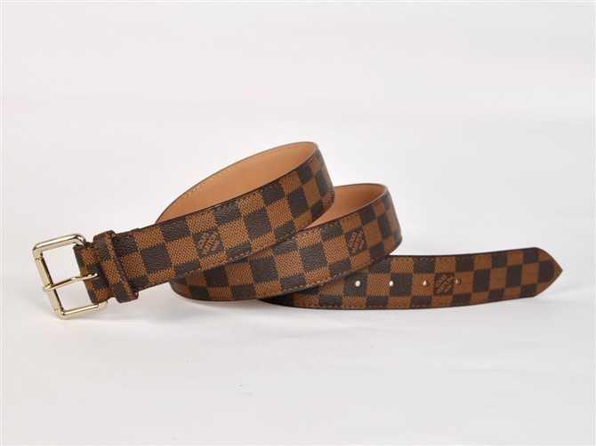 男性女性 ユニセックス ベルト ダミエ N3001 ブラウン ルイ·ヴィトン Louis Vuitton