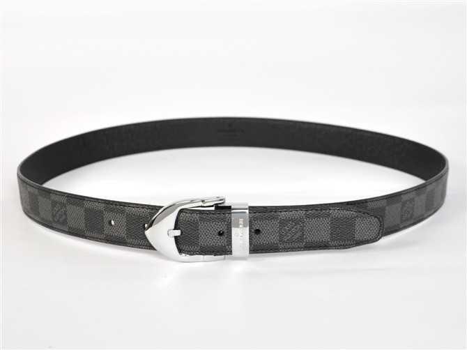 男性 ベルト 専用牛革生地 ブラック N3005 ルイ·ヴィトン Louis Vuitton