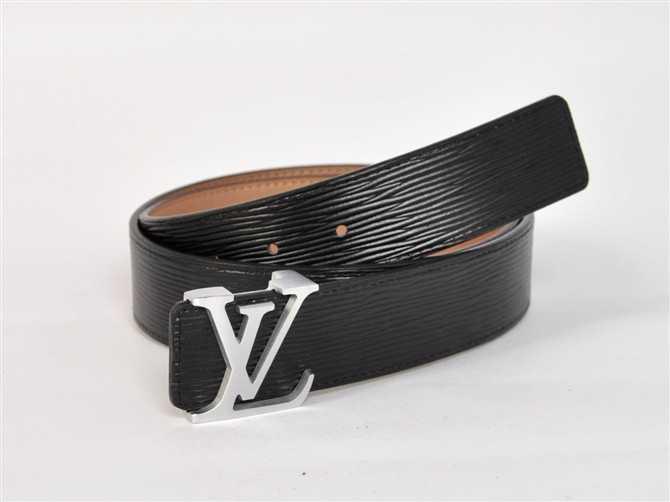 男性 ベルト 専用牛革生地 M4001 ルイ·ヴィトン Louis Vuitton ブラック