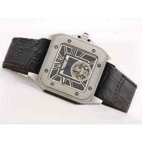 カルティエコピー腕時計 バロン ブルー ドゥ    ウオッチ   カドラン  ブラック   トラヴァイユ クロノ    ケース