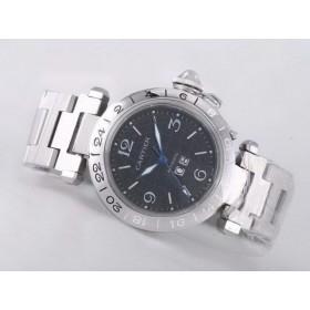 カルティエ   パシャ   ウオッチ   カドラン  ブラン     オートマティック ブランドコピー腕時計代引き可能中国国内発送