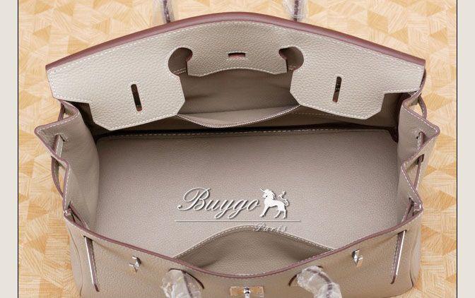 エルメス 2012年秋冬新作バーキン35 トゴトゥルティールグレーhermes00067012