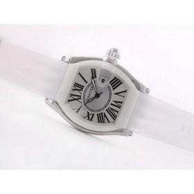 ブランド腕時計コピー代引き対応安全カルティエ   ロードスター ウオッチ ブラウン-ダメ  タイユ カドラン ブラン