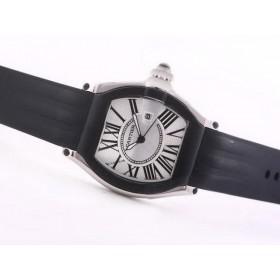 カルティエ 腕時計コピー代引き ロードスター  ウオッチ  -ダメ   タイユ  カドラン  ブラン サイト届く