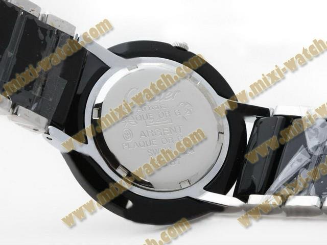 カルティエ    サントス   ウオッチ  カドラン    ブラック   ムーブメント    オートマティック