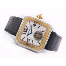 カルティエコピー腕時計 サントス   ウオッチルネット   オートマティック     ステンレススチール 最高品質コピー時計代引き対応