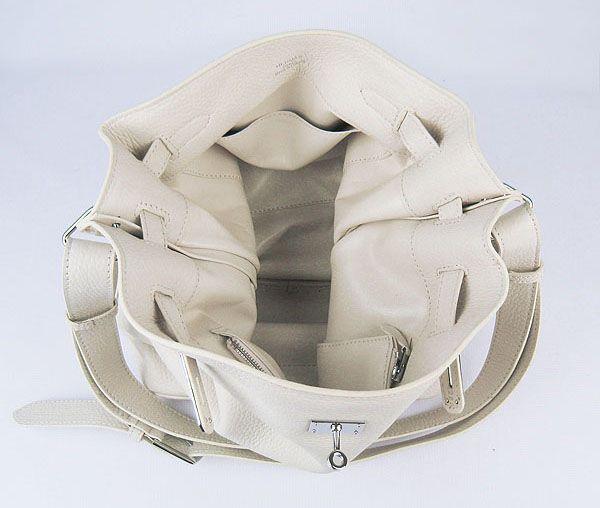 エルメス  新品SOケリー ショルダーバッグトゴオフホワイト 金具シルバー 21041008150807