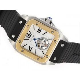 カルティエ スーパーコピー時計 タンク   ウオッチ   オートマティック   ローズ    Marquant     ケース