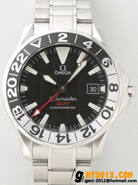 2234.50 オメガ シーマスター プロフェッショナル ダイバー GMT ブラック