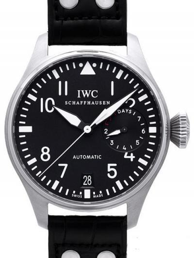IWC 偽物時計代引き対応安全 ビッグ パイロットウォッチ 7デイズ IW500901