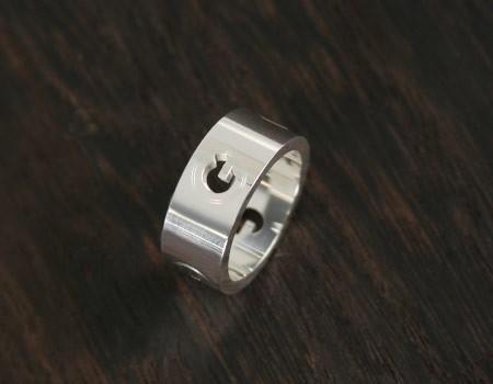 品番:ACGU190528J84008106グッチ Gラウンド リング(指輪) スターリングシル