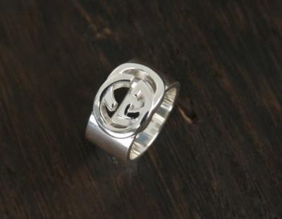 品番:ACGU190482J84008106グッチ ダブルG リング(指輪) スターリングシルバ