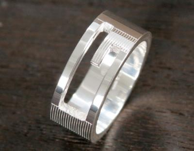 gucci スーパーコピー 信頼ACGU032661098408106Gリング【指輪】 スターリングシルバー 032