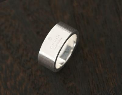 グッチ ブランド レプリカ 代引き 通販大丈夫ACGU163179J84008106 トレードマーク リング(指輪) スターリン