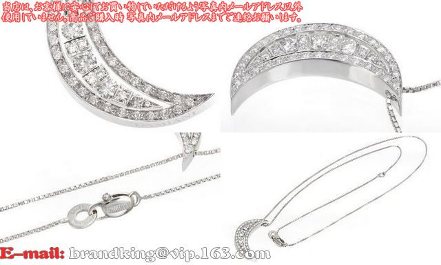 品番:ダミアーニアクセサリー20020010ダミアーニベルエポック ムーン ダイヤ ネックレス