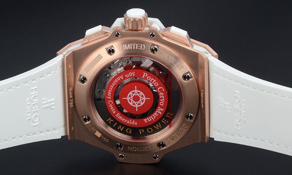 HUBLOT キングパワー コスタ スメラルダ  世界限定100本 710.OE.2123.GR.PCM12腕時計激安代引き