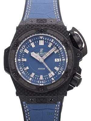 ウブロ時計 スーパーコピ オーシャノグラフィック 4000 オールカーボンデニム 731.QX.5190.GR