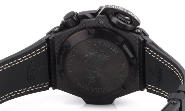 HUBLOT オーシャノグラフィック 4000 オールカーボンデニム 731.QX.5190.GRブランドコピー腕時計