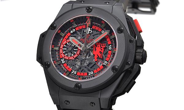 HUBLOT キングパワー レッドデヒ゛ル 世界限定500本 716.CI.1129. RX.MAN11レプリカ腕時計販売