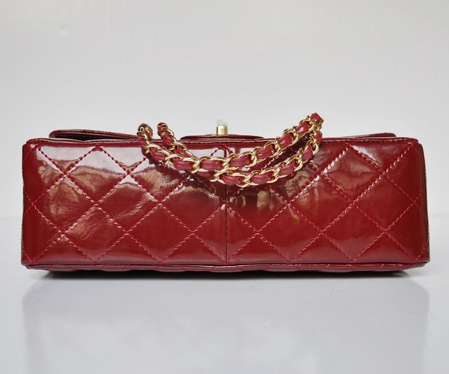 女性 ショルダーバッグ CHANELシャネル シャネルエナメル 赤い ECS009228