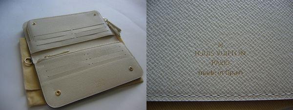 新品ヴィトン コピー 長財布モノグラム白アンソリット ポルトフォイユ M66563