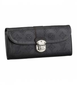 財布 ヴィトンコピー品おすすめ 後払い マヒナ ポルトフォイユアメリア ノワールアルジャン M58074