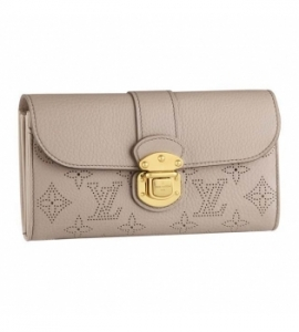 ルイヴィトン財布 コピー安全通販届くマヒナ ポルトフォイユイリス サーブル M58094