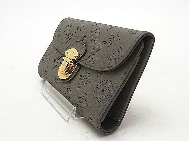 偽物財布ブランドルイヴィトン マヒナ ポルトフォイユアメリア トープ M93761