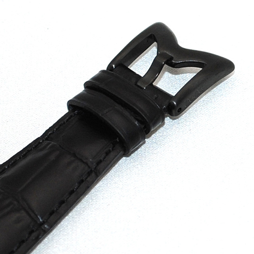GaGa MILANO (ガガミラノ) NAPOLEONE ナポレオーネ 48mm ブラック レザー/ブラック 6002.1