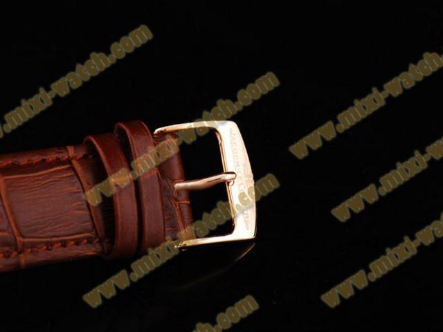 ジャガ•ールクルト ゴールド ローズ カドラン ブラン ブラン オートマティック ウオッチ