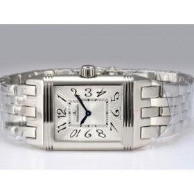 ジャガールクルト ブランド時計コピー代引き対応安全 ステンレススチール カドラン ブラン
