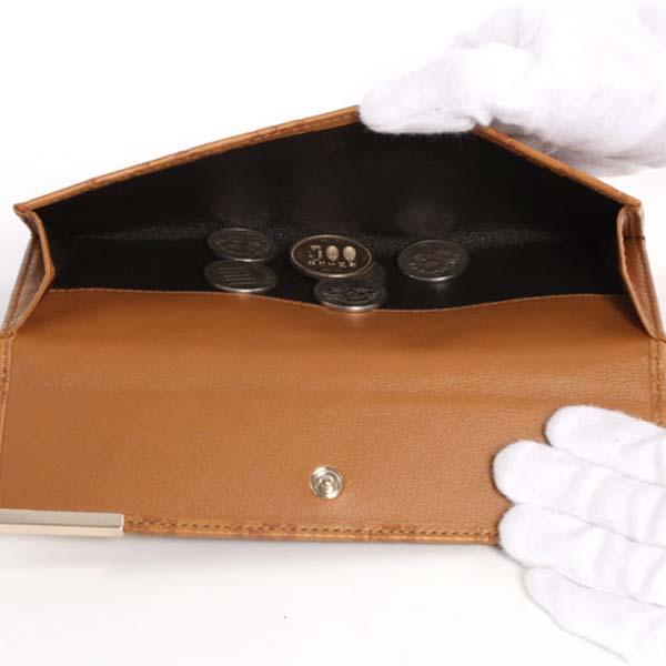 (GUCCI)グッチコピー財布 シマ 長財布 ダークブラウン 244946A0V1G2019