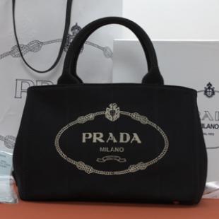 プラダ バッグ スーパーコピー 2013年春夏新作CANAPAロゴプリント トートバッグ スモール BN2439 商品届いた