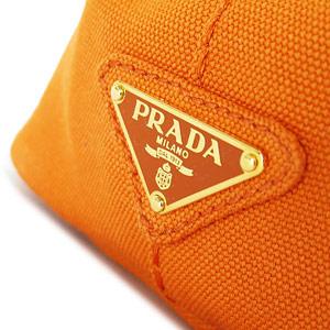 プラダ トートバッグ PRADA プラダ 2WAY ショルダーバッグ カナパ キャンバス パパヤ B2439G CANAPA PAPAYA