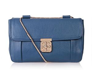 クロエ コピー バッグ ELSIE エルシー チェーン付き ショルダーバッグ サファイア181626-6n級口コミ