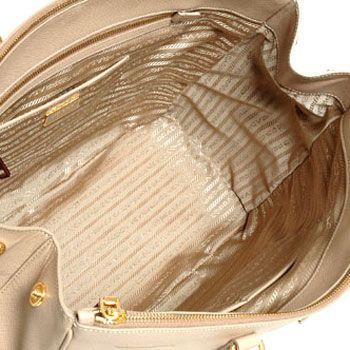 プラダ  SAFFIANO LUX レディーストートバッグ サンドベージュ BN1802-NZV-036