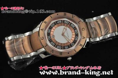 ブルガリ偽物腕時計代引き可能中国国内発送 品番:watch-bv-005新作