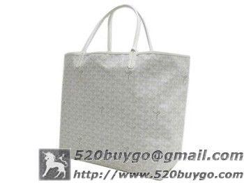 ゴヤール トートバッグ『サンルイGM』(ホワイト)AMALOUISGM50-BLANC