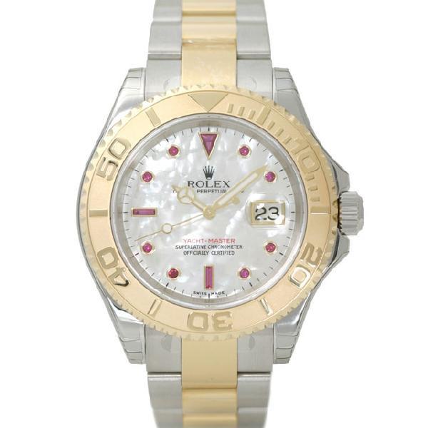 ロレックス メンズ 時計ヨットマスター 腕時計 ウォッチ Ref.16623NGR