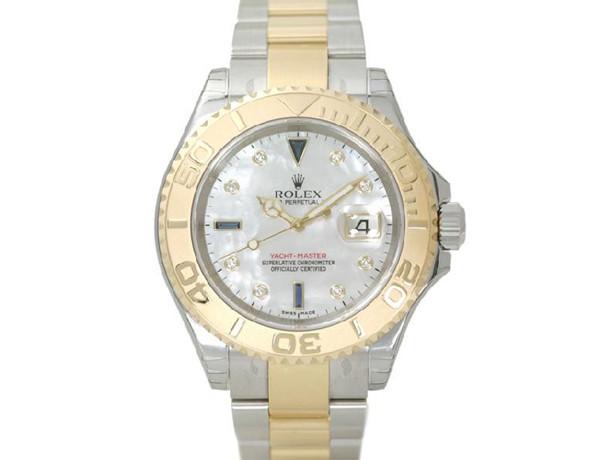 メンズ ロレックス 時計 コピーヨットマスター 腕時計 ウォッチ Ref.16623NG 安全なところ