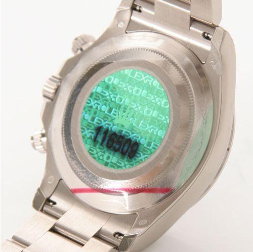ロレックス Ref.116509 デイトナ WG金無垢 コスモグラフ ブラック アラビア メンズ