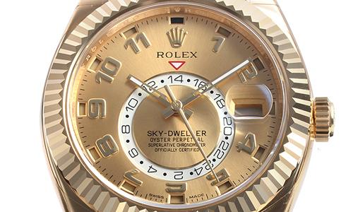 ロレックス スカイドゥエラー 326938 シャンパン