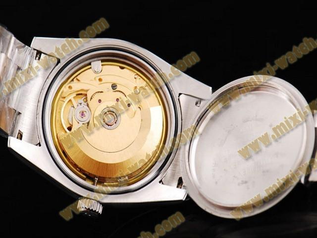 ロレックス エアキング ステンレススチール アベック ノワール ブレスレット オイスター パーペチュアル スイス 2836 ムーブメント オートマティック ウオッチ