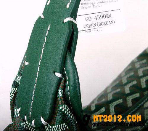 ゴヤール ポーチ バッグ リストレット グリーンGOYARD-052