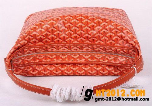 ゴヤール ポーチ バッグ リストレット オレンジGOYARD-053